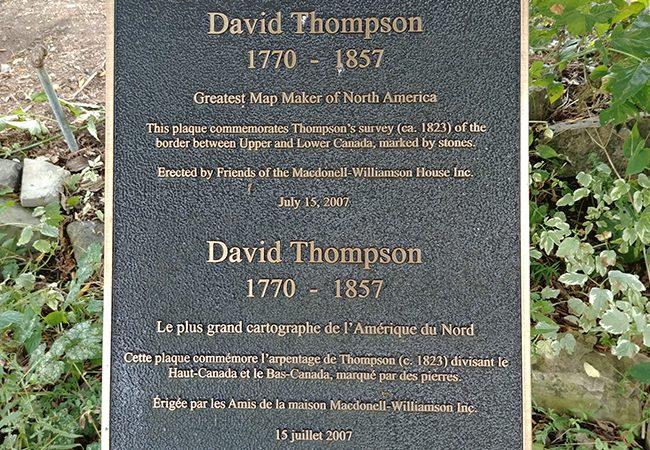 histoire david thompson le plus grand cartographe de l'amérique du Nord