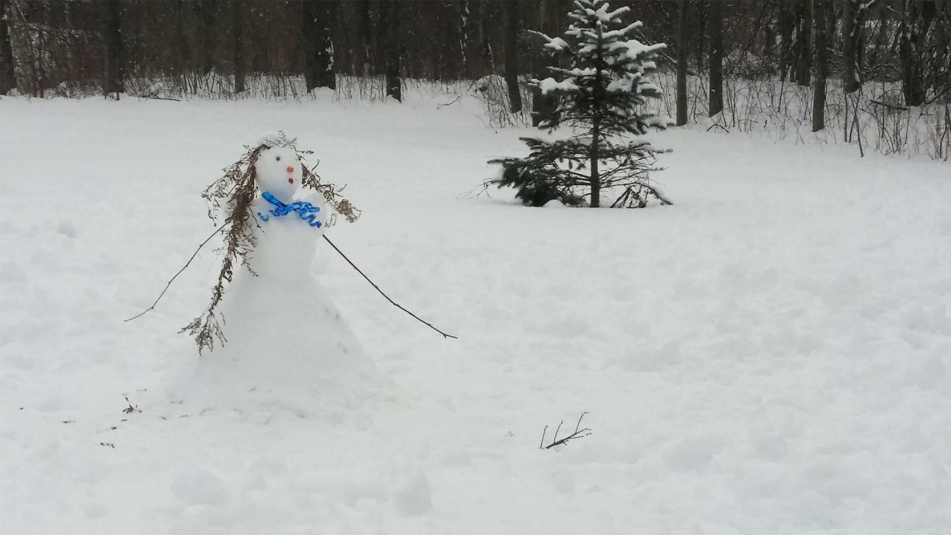 activité pointe-fortune bonhomme de neige