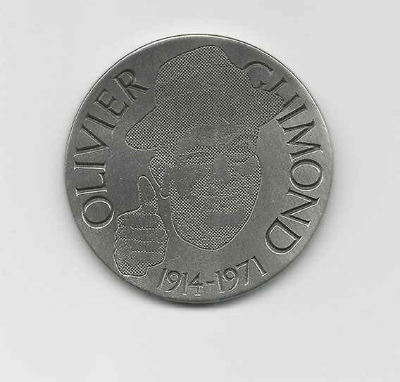 olivier GUIMOND pièce 1914-1971
