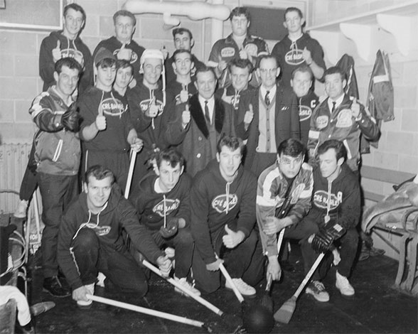 chambre de hockey histoire