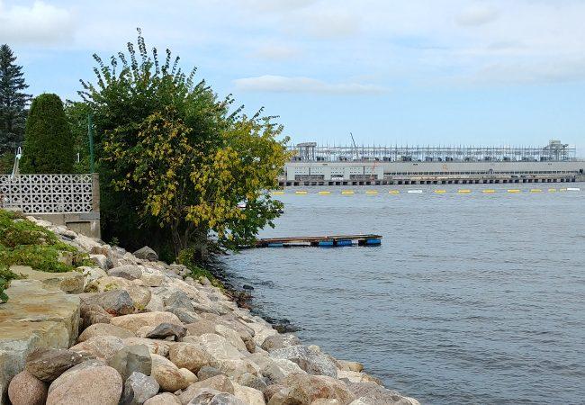 barrage La rivière des Outaouais